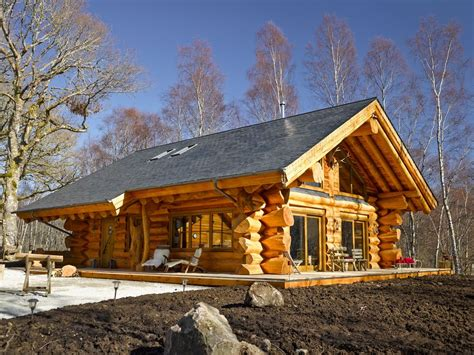 luxury canadian log cabin dreamed of a real luxury