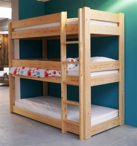 triple bed diy triple bunk bed plans triple bunk bed pdf plans