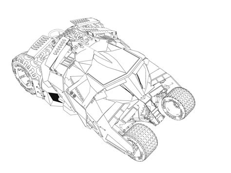 batman car drawing batmobile dark knight drawing www pixshark com images