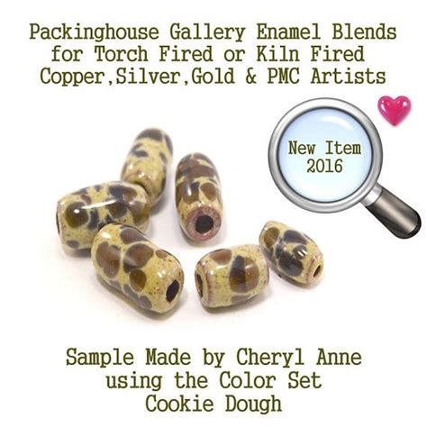 enamel glass frit mix for silver gold copper pmc artists cheryl annes enamel mixes