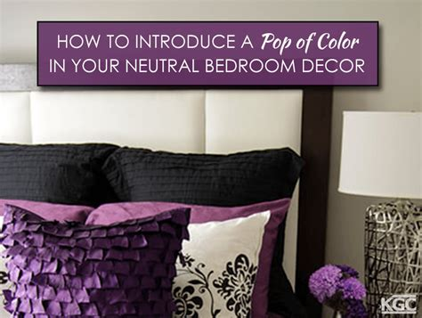 neutral bedroom with pops of color how to introduce a pop of color in your neutral bedroom decor portland roofing