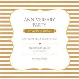 anniversary invitation templates free printable gold and white free printable anniversary invitation