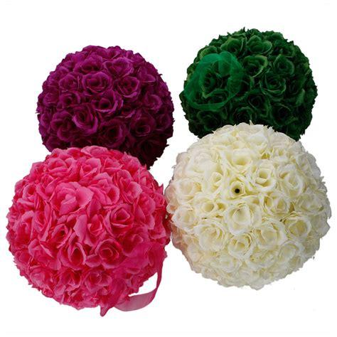 multi colour new 10 quot flower wedding silk pomander decor ebay