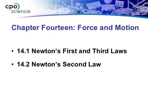 chapter 14 section 1 ch14 forceandmotionsection1