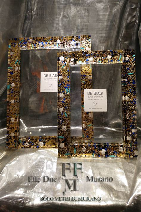 cornice in vetro murano glass photo frames cornici portafoto in vetro di