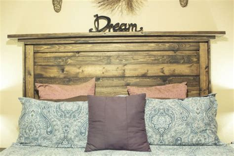 how do you make a headboard for your bed how to make a reclaimed wood headboard diy ready