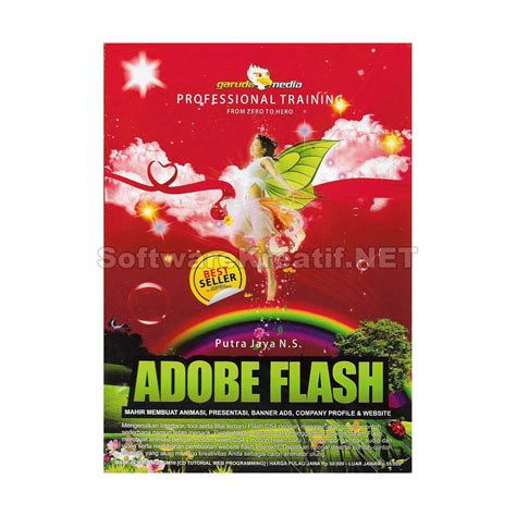 jual tutorial adobe flash cs4 membuat animasi presentasi banner company profile