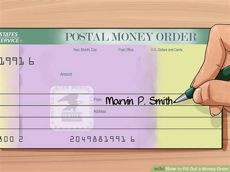 How To Fill Out A Money Order 8 Steps With Pictures