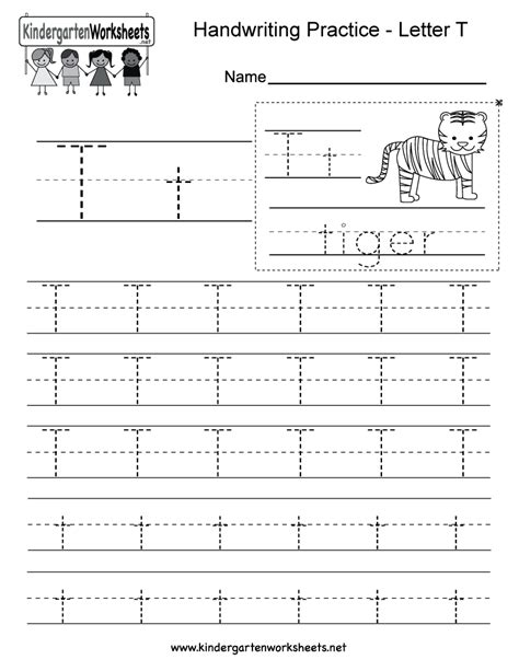 letter t worksheets letter t handwriting practice worksheet this would be 1440