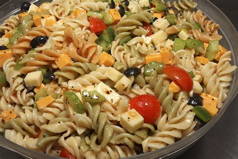 cold pasta salad recipe world of food
