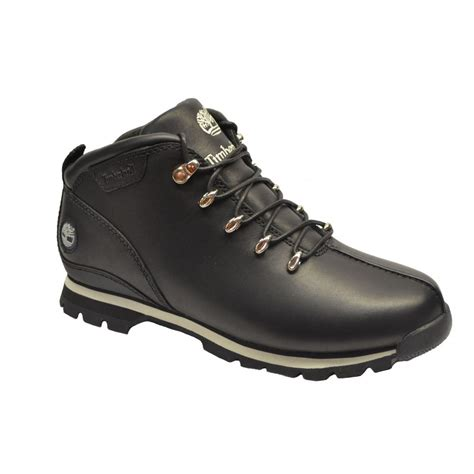 black timberland boots for timberland timberland black 95132 ek split rock hiker sc