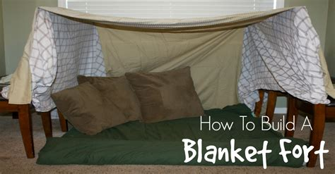 How To Make A Fort Out Of Blankets And Pillows by Step By Step On How To Make A Blanket Fort