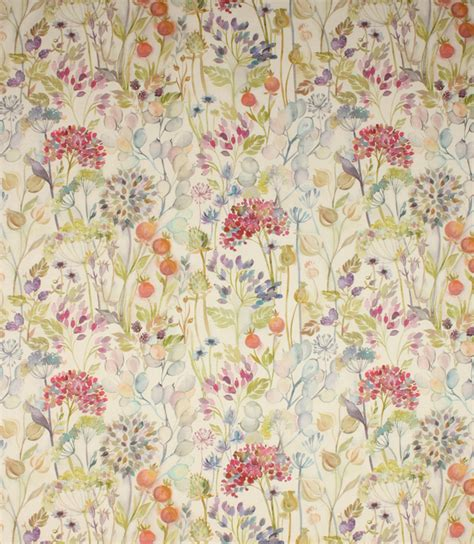 Voyage Upholstery Fabric by Voyage Decoration Hedgerow Fabric Just Fabrics