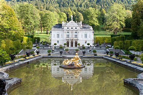 Baroque Architecture by Bavarian Palace Department Palaces Linderhof Palace