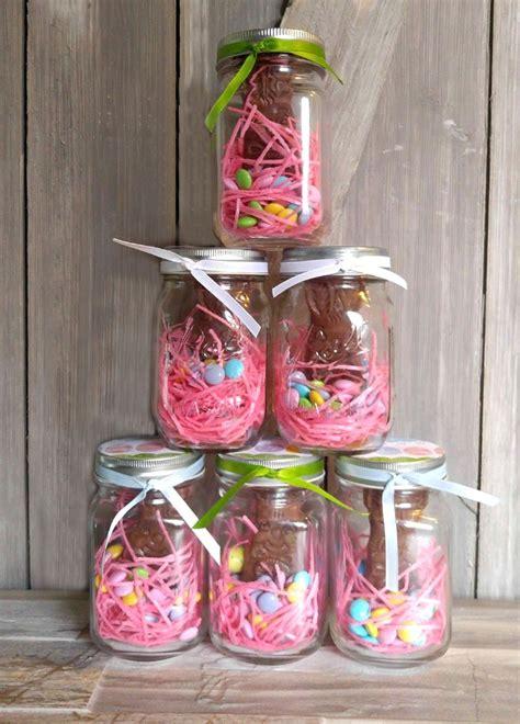 mason jar easter bunny treats project  gardening cook