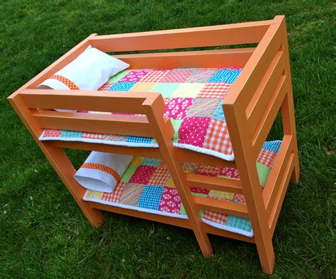 bunk beds for dolls doll bunk bed plans bed plans diy blueprints