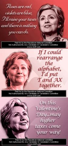 valentines cards clintons happy valentine s day from your loving political