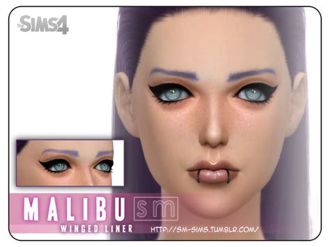 mod the sims acute eyeliner 10 styles the sims resource malibu winged liner by screaming