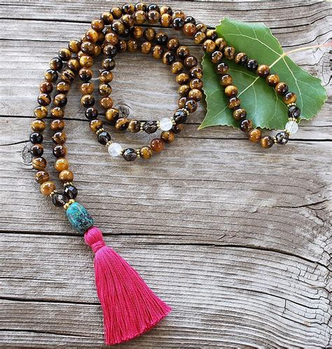 mala prayer magnetizing mala necklace designs