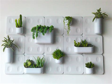 Urbio Wall Planter by Urbio Eat Chic Chicago Eat Chic Chicago