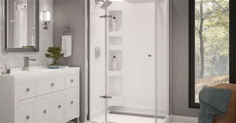 menards bathroom remodeling a modern shower for a minimalistic bathroom design http