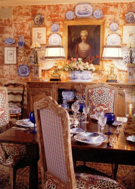 Black And White Toile Kitchen Curtains Welcome To Bonnes Amies Charles Faudree Dining Room