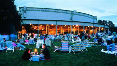 Tanglewood Koussevitzky Shed Lenox Ma by Tanglewood Celebrates 75th With Free Web Wrti