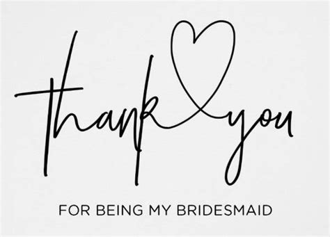 thank you for being my bridesmaid card template 13 bridesmaid thank you cards designs templates psd