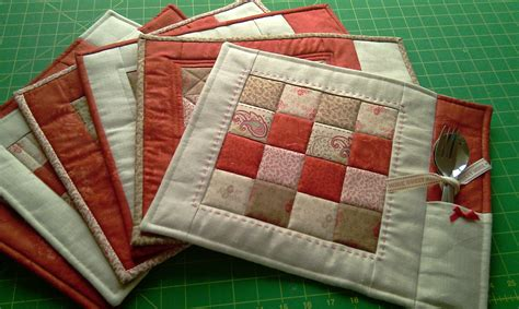 Free Easy Quilted Placemat Patterns by Just Jude New Patterns