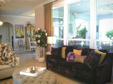 Purple And Gold Living Room by For The Of Purple Gold Silver And Diamonds