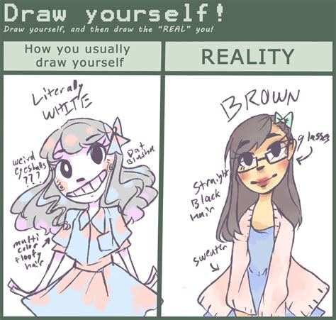 draw yourself draw yourself meme by chiming ribbon on deviantart