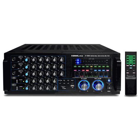 Promo Power Lifier Karoke New Murah idolpro ip 5800 600w bbe karaoke mixing lifier w echo key usb sd card