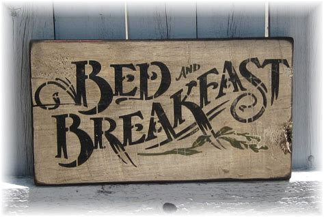 bed and breakfast country primitive gatherings gifts decor wood signs more