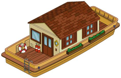 cartoon images of houseboat houseboat the simpsons tapped out wiki fandom powered