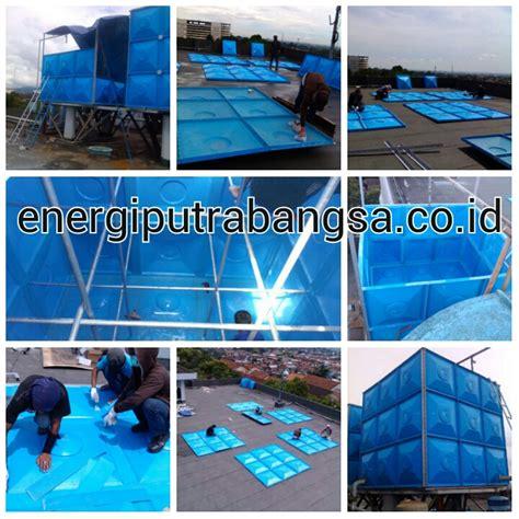 Tangki Panel Fiber Penung Air tangki fiberglass frp harga pabrikan termurah tangki