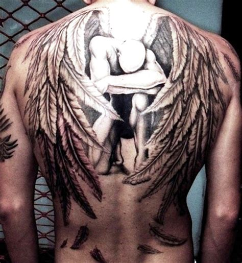 guardian angel tattoo designs for men 28 guardian tattoos for 25 marvelous