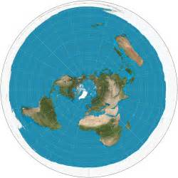 World Flat Map by Flat Earth Vs Round Earth The Flat Earth Map