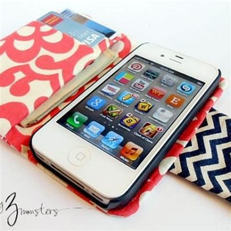 tutorial wallet iphone diy iphone wallet tutorial sewing patterns wallets and