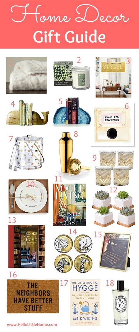 home decor gift guide   home