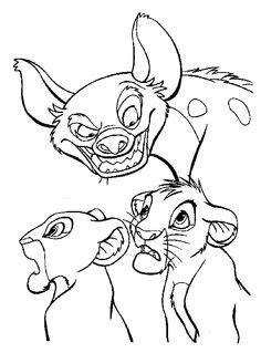 lion king hyenas coloring pages lion king hyenas coloring pages sketch coloring page