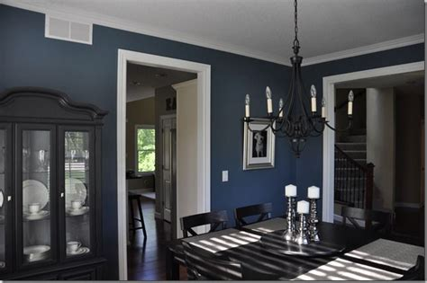 this blue color in the dining room this has a house tour and tells you each color they