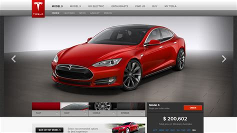 tesla model  officially  sale  australia heres