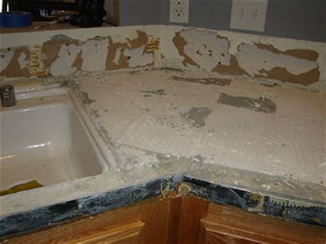 How To Remove Tile Countertops by Removing Tile Countertop Bstcountertops