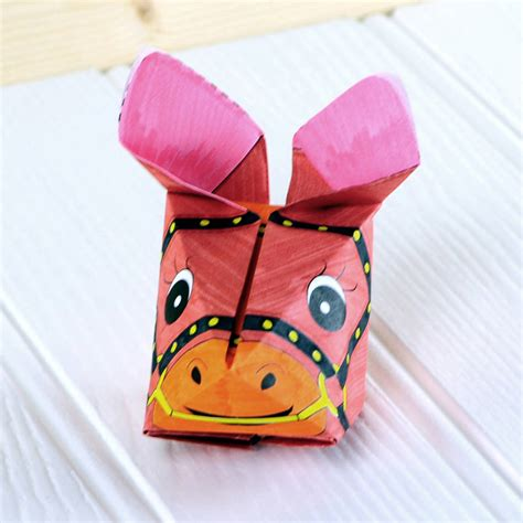Origami Farm Animals - paper folding crafts animals