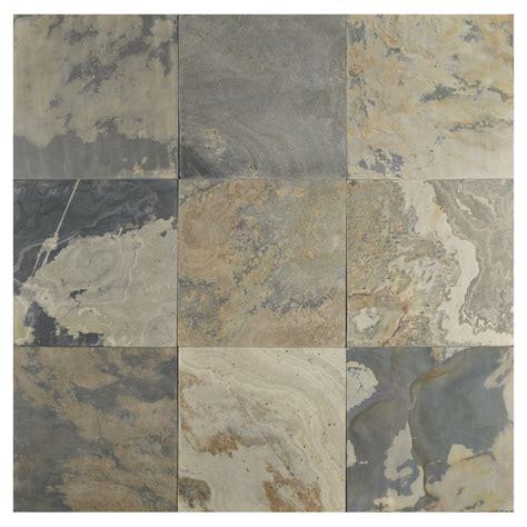 autumn honed slate tile
