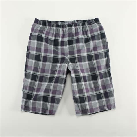 Trend Worth Trying Plaid Shorts by Fashion Home Shorts 100 Cotton Woven Plaid Lounge