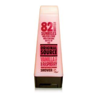 Rasberry Shower Gel 250ml original source shower gel 250 ml vanilla milk