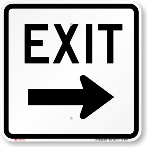 Garages Designs exit only signs amp exit parking lot signs