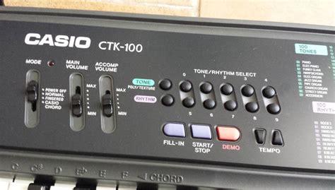 Keyboard Casio Ctk 100 by Keyboard Casio Ctk 100 Catawiki
