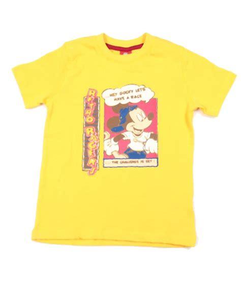 T Shirt Bb 1 Years Product disney yellow t shirt for boys buy disney yellow t shirt